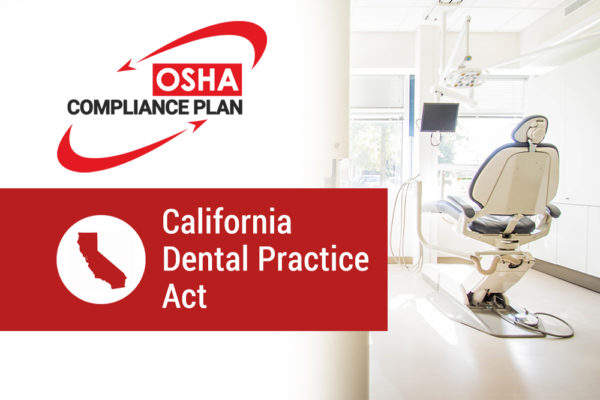 california dental practice act training online